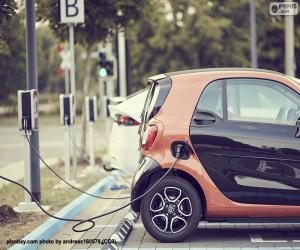 Puzzle Charge voiture électrique