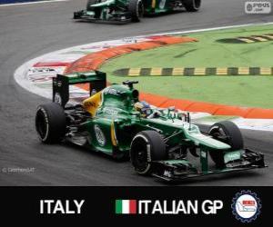 Puzzle Charles Pic - Caterham - Monza, 2013