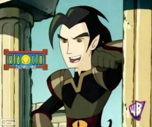 Puzzle Chase Young, ennemi puissant pour les guerriers Xiaolin