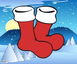 Puzzle Chaussettes de Père Noël