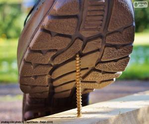 Puzzle Chaussures de sécurité