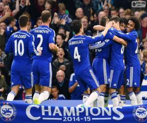Puzzle Chelsea FC champion 2014-15