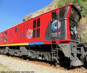 Puzzle Chemin de fer transandin de l'Équateur