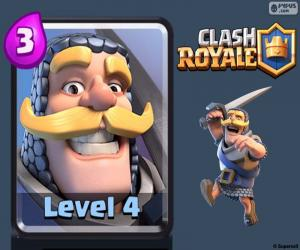 Puzzle Chevalier de Royale de Clash