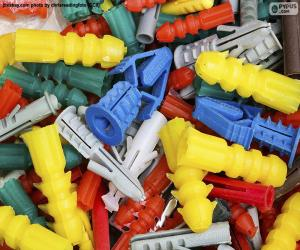 Puzzle Cheville nylon