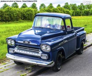 Puzzle Chevrolet Apache, 1959