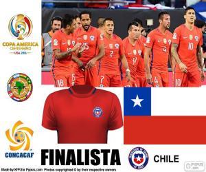 Puzzle CHI finaliste Copa América 2016