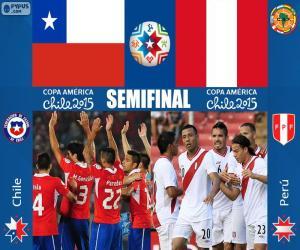 Puzzle CHI - PER, Copa America 2015