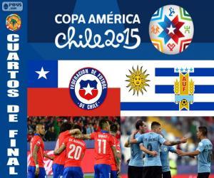 Puzzle CHI - URU, Copa America 2015