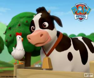 Puzzle Chickaletta et Bettina PAW Patrol