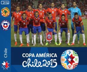 Puzzle Chili Copa América 2015