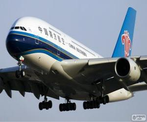 Puzzle China Southern Airlines est le plus grand aerolina chinois