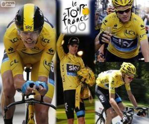 Puzzle Chris Froome, Tour de France 2013