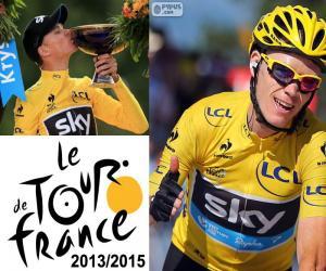Puzzle Chris Froome, Tour de France 2015
