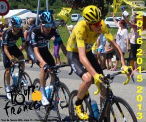 Puzzle Chris Froome, Tour de France 2016