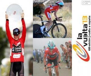 Puzzle Chris Horner champion du Tour d'Espagne 2013