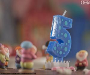 Puzzle Cinquième anniversaire