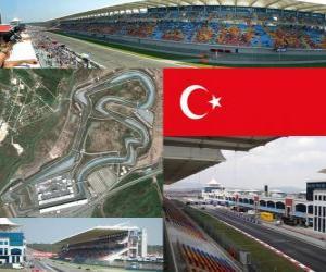 Puzzle Circuit d'Istanbul Park - Turquie -