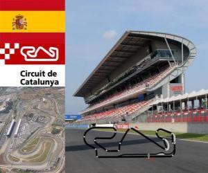 Puzzle Circuit de Catalogne - Espagne -