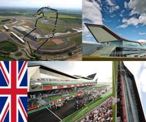 Puzzle Circuit de Silverstone - Angleterre -