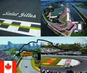 Puzzle Circuit Gilles-Villeneuve - Canada -
