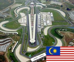 Puzzle Circuit international de Sepang - Malaisie -