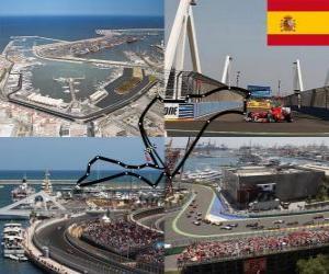 Puzzle Circuit urbain de Valence - Espagne -