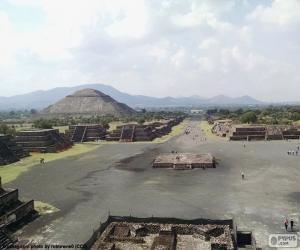 Puzzle Cité préhispanique de Teotihuacan