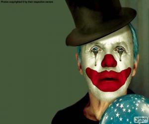 Puzzle Clown triste