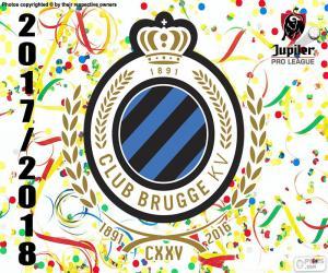 Puzzle Club Brugge KV, Pro League 2017-2018