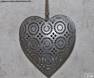 Puzzle Coeur de métal