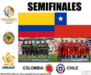 Puzzle COL-CHI, Copa América 2016