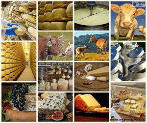 Puzzle Collage de fromage