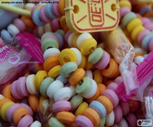 Puzzle Collier de bonbons