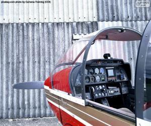 Puzzle Commandes d'un aviation légère