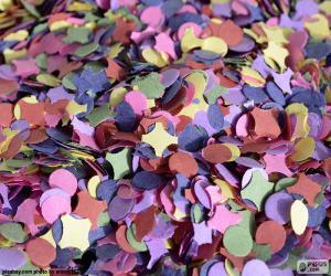 Puzzle Confettis de couleurs