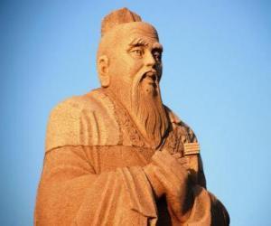 Puzzle Confucius, philosophe chinois, fondateur du Confucianisme