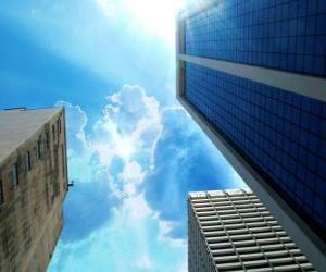 Puzzle Construire des gratte-ciel de la ville