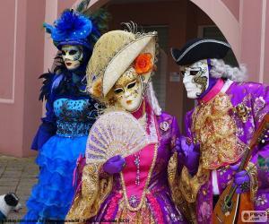 Puzzle Costume classique vénitien