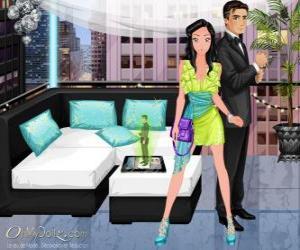 Puzzle Couple très élégant, Oh My Dollz