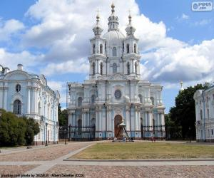 Puzzle Couvent Smolny, Russie