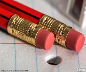 Puzzle Crayons avec gomme