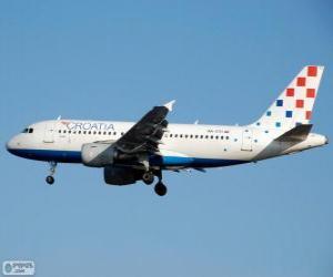 Puzzle Croatia Airlines, la compagnie aérienne nationale de Croatie