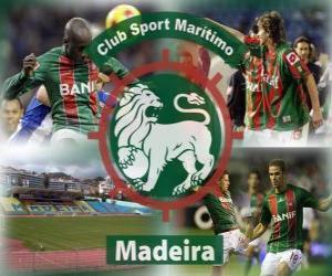 Puzzle CS Marítimo de Funchal, à Madeira, club de football portugais