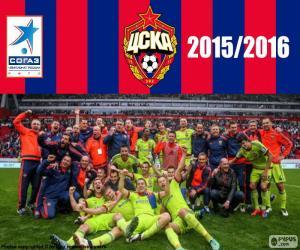 Puzzle CSKA Moscou, champion de 2015-16