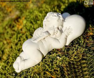 Puzzle Cupidon dormant