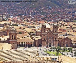 Puzzle Cuzco, Pérou