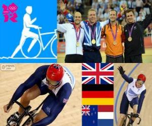Puzzle Cyclisme Keirin hommes LDN 2012