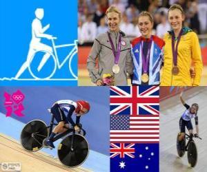Puzzle Cyclisme omnium féminin LDN12