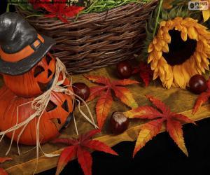Puzzle Décoration pour Halloween